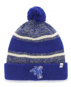 Indianapolis Colts 47 Brand Legacy Royal Fairfax Cuff Knit Hat