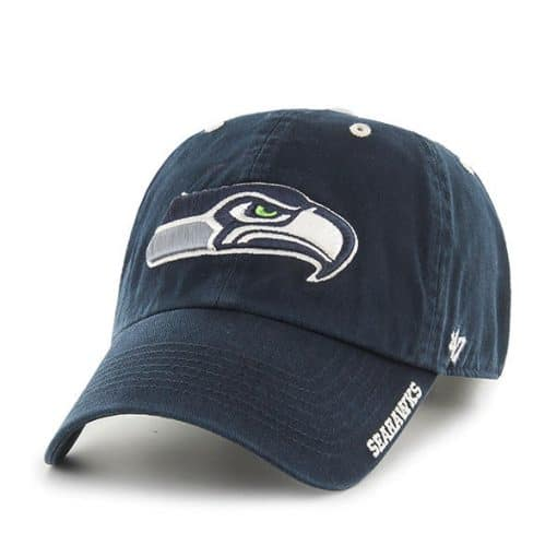 Seattle Seahawks 47 Brand Navy Ice Adjustable Hat