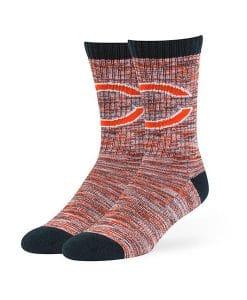 Chicago Bears 47 Brand Navy Leroy Crew Socks