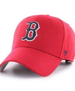 Boston Red Sox 47 Brand Red MVP Adjustable Hat