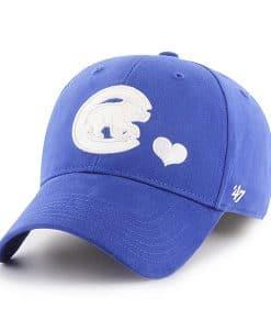 Chicago Cubs KIDS Girls 47 Brand Blue Sugar Sweet Adjustable Hat