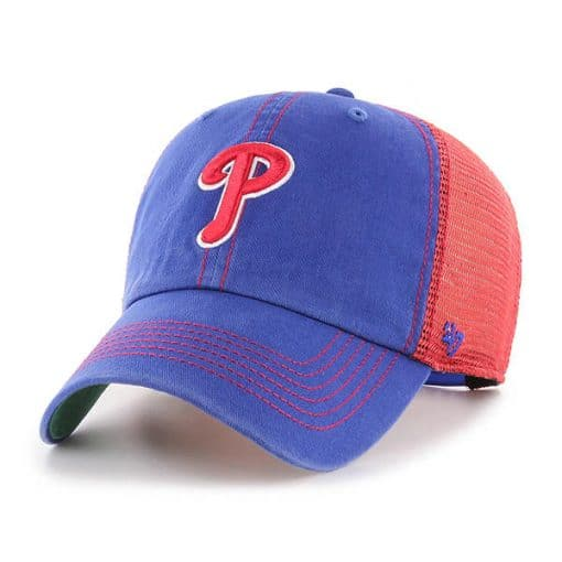 Philadelphia Phillies 47 Brand Trawler Royal Clean Up Adjustable Hat