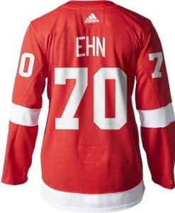 Christoffer Ehn Detroit Red Wings Men's Adidas AUTHENTIC Home Jersey