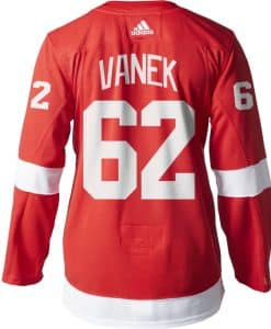 Thomas Vanek Detroit Red Wings Men's Adidas AUTHENTIC Home Jersey