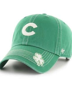 Chicago Cubs 47 Brand St Patty's Fatty Green Adjustable Hat