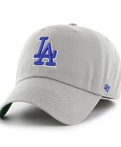 Los Angeles Dodgers 47 Brand Gray Franchise Fitted Hat