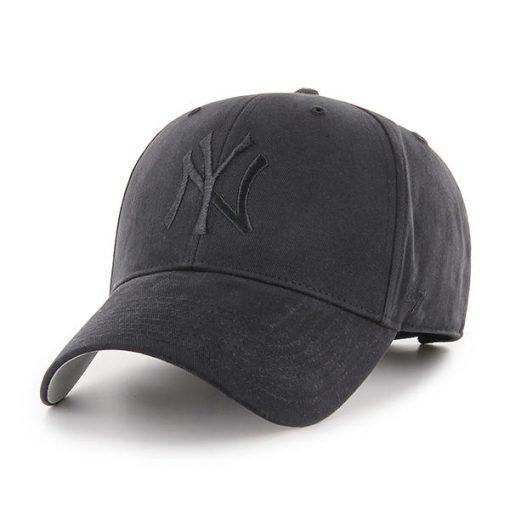 New York Yankees TODDLER 47 Brand All Black MVP Adjustable Hat