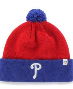 Philadelphia Phillies TODDLER 47 Brand Blue Red Bam Bam Cuff Knit Hat