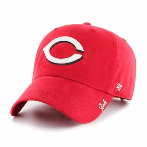 Cincinnati Reds Women's 47 Brand Red Miata Clean Up Adjustable Hat