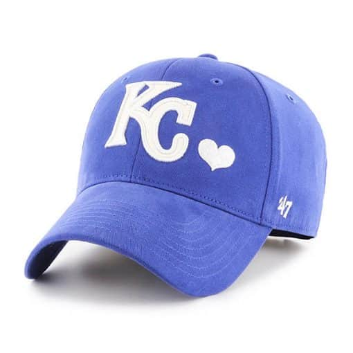 Kansas City Royals KIDS 47 Brand Blue Sugar Sweet Adjustable Hat