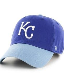 Kansas City Royals YOUTH 47 Brand Royal Clean Up Adjustable Hat