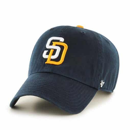 San Diego Padres KIDS 47 Brand Navy Clean Up Adjustable Hat