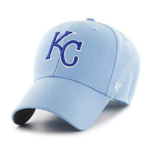 Kansas City Royals 47 Brand Columbia MVP Adjustable Hat
