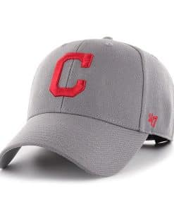 Cleveland Indians 47 Brand Dark Gray MVP Adjustable Hat