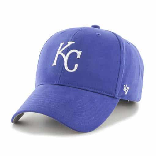 Kansas City Royals KIDS 47 Brand Blue MVP Adjustable Hat