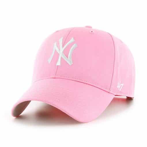 New York Yankees TODDLER 47 Brand Pink Rose MVP Adjustable Hat