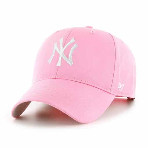 New York Yankees INFANT 47 Brand Pink Rose MVP Hat