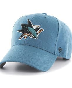 San Jose Sharks 47 Brand Dark Teal MVP Adjustable Hat