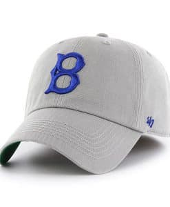 Los Angeles Dodgers 47 Brand Gray Franchise Classic Fitted Hat