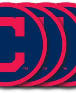 Cleveland Indians Coaster Set - 4 Pack