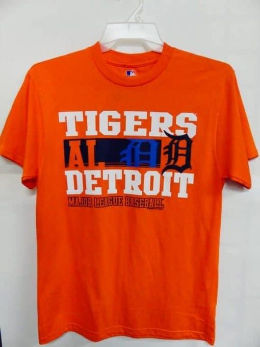 Detroit Tigers Orange AL Major League Baseball T-Shirt Tee