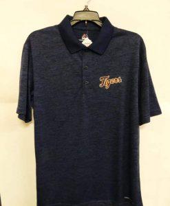 Detroit Tigers Navy Dri-Fit Polo Shirt