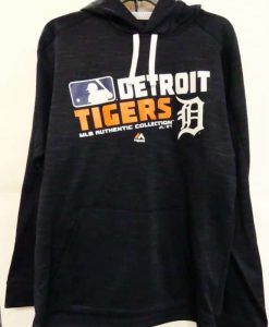 Detroit Tigers Navy MLB Power Hitter Hoodie