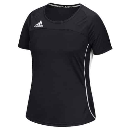Women's Adidas Black Climacool Utility Short Sleeve Jersey Shirt