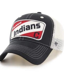 Cleveland Indians KIDS 47 Brand Navy Woodlawn MVP Hat