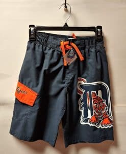 Detroit Tigers Youth Swim Trunk