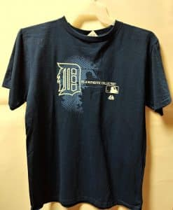 Detroit Tigers Navy MLB Tee