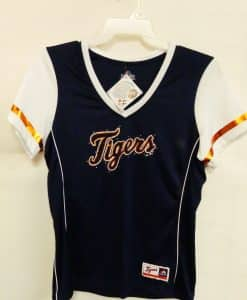 Detroit Tigers Women's Navy White Bling Jersey