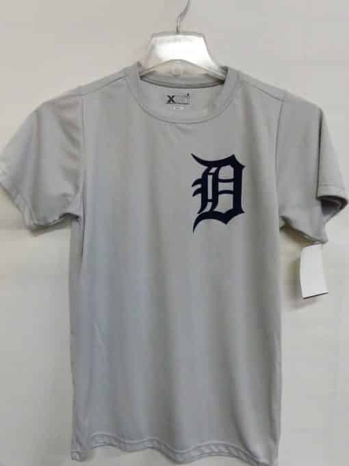 Detroit Tigers Men's Grey Dri Fit Tee