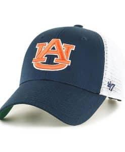 Auburn Tigers 47 Brand Navy Branson MVP Mesh Adjustable Hat