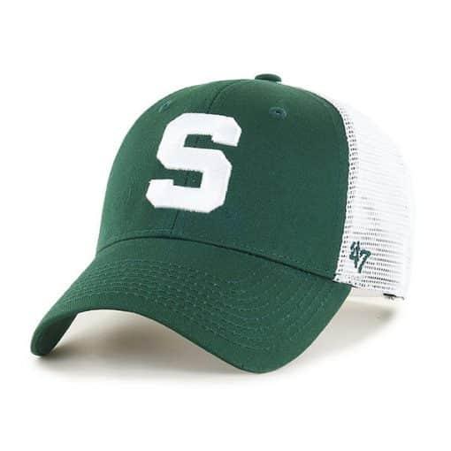 Michigan State Spartans 47 Brand Dark Green Branson MVP Mesh Adjustable Hat
