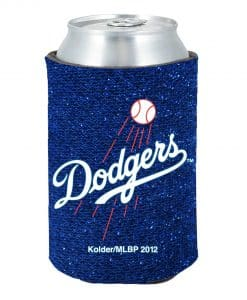Los Angeles Dodgers Kolder Kaddy Can Holder - Glitter