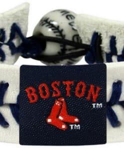 Boston Red Sox Logo Baseball Bracelet