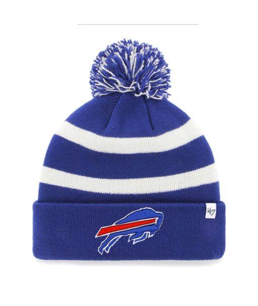 Buffalo Bills 47 Brand Blue Breakaway Cuff Knit Hat