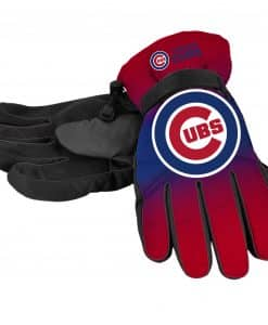 Chicago Cubs Men's Big Logo Insulated Gloves