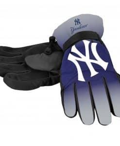 New York Yankees Men's Big Logo Insulated Gloves