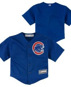 Chicago Cubs Baby Majestic Blue Cooperstown Jersey