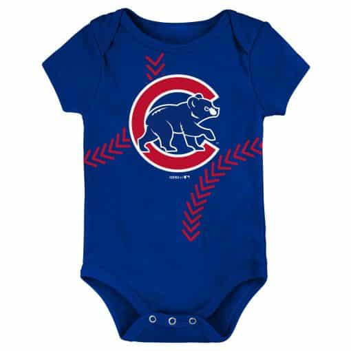 Chicago Cubs Baby Blue Classic Onesie Creeper