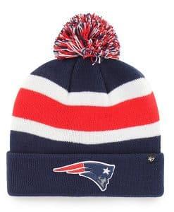 New England Patriots 47 Brand Light Navy Breakaway Cuff Knit Hat