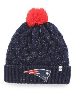New England Patriots INFANT / TODDLER 47 Brand Navy Fiona Cuff Knit Hat