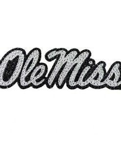 Mississippi Rebels Ole Miss Bling Auto Emblem