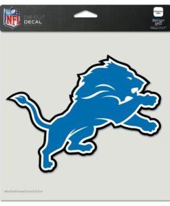 """Detroit Lions 8""""x8"""" Color Perfect Cut Decal"""