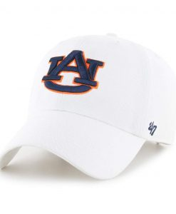 Auburn Tigers 47 Brand OHT White Clean Up Adjustable Hat
