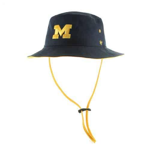 Michigan Wolverines 47 Brand Navy Kirby Bucket Hat