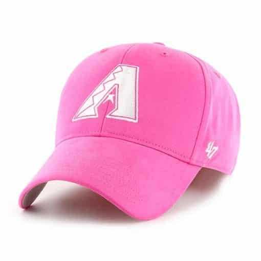 Arizona Diamondbacks YOUTH 47 Brand Pink MVP Adjustable Hat