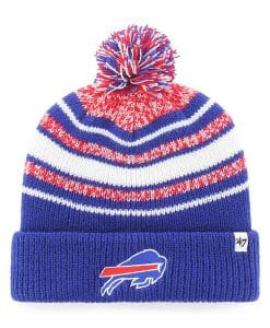 Buffalo Bills YOUTH 47 Brand Royal Bubbler Cuff Knit Hat
